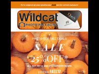 Wildcat Wholesale Fall Sale 2017 Email