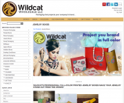 Wildcat Wholesale - Jewelry Boxes Webpage